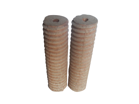 Thread ceramic in the load testing, crane load