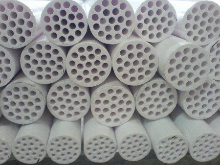 Tube ceramic in furnace Endothermic gas generator