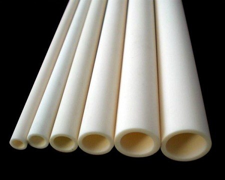 Tube ceramic support wires